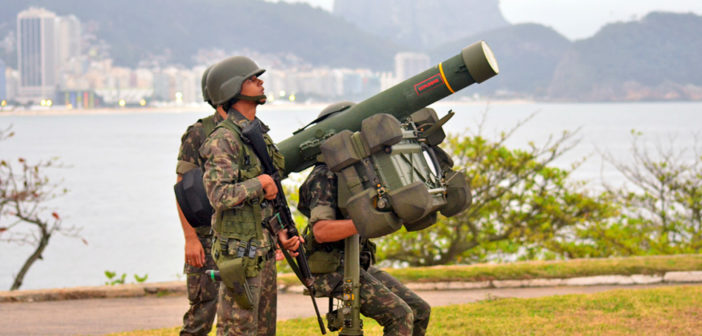 Saab receives order for RBS 70 from the Brazilian Army