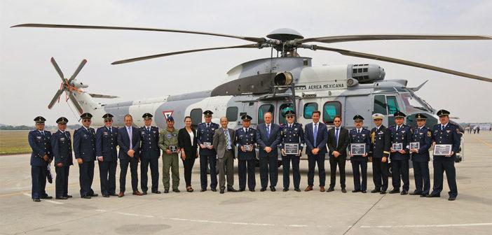 Mexican Air Force H225M fleet tops 9,000 flight hours