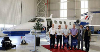 Embraer delivers first Phenom 100 for UK´s MFTS programme