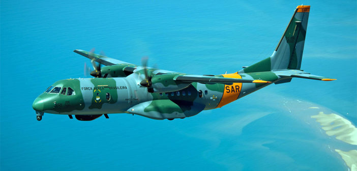 Brazilian Air Force receives first Airbus SC-105 Amazonas