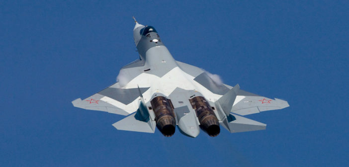 Russia's 5th-Generation PAK FA fighter jet officially named Su-57