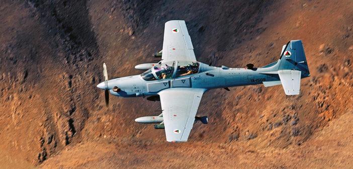 USAF adds 6 additional Super Tucanos to Afghan program fleet