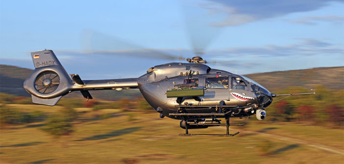 Airbus Helicopters completes firing campaign of HForce-equipped H145M